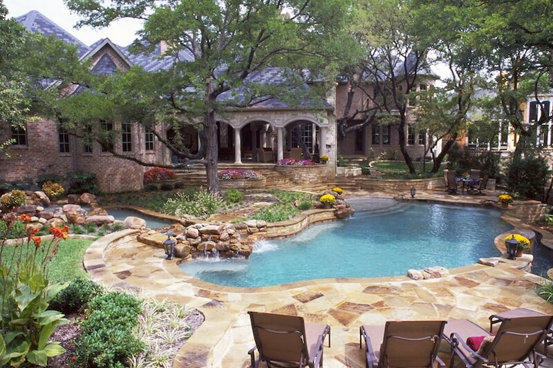 Backyard Pool Design Ideas pool design tropical pool backyard playground design ideas design ideas outdoor pool backyard Pool Landscaping