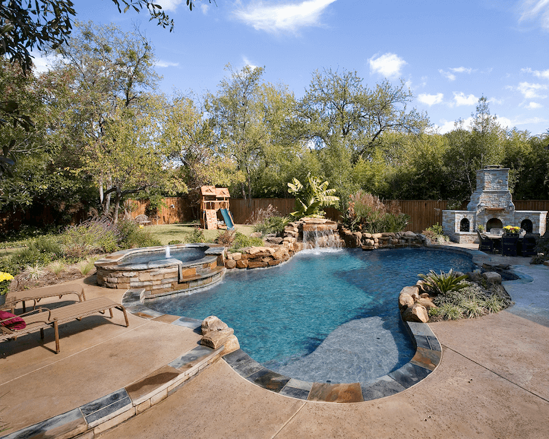 Boulders Around Pool Stunning How To Choose The Best Location For Your New Pool