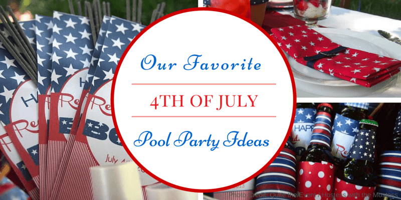 Our Favorite Patriotic Pool Party Ideas For 4th Of July