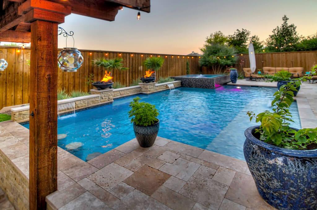 Dallas Texas Pool Builder Entertaining In Style Plano