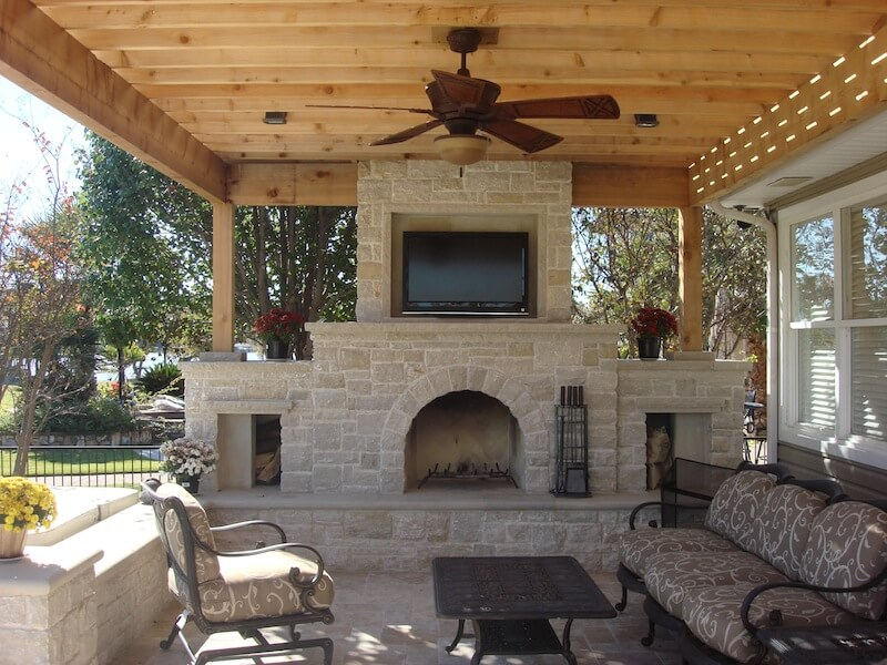Heating Up The Outdoors In Plano Texas Dallas Fire Pits
