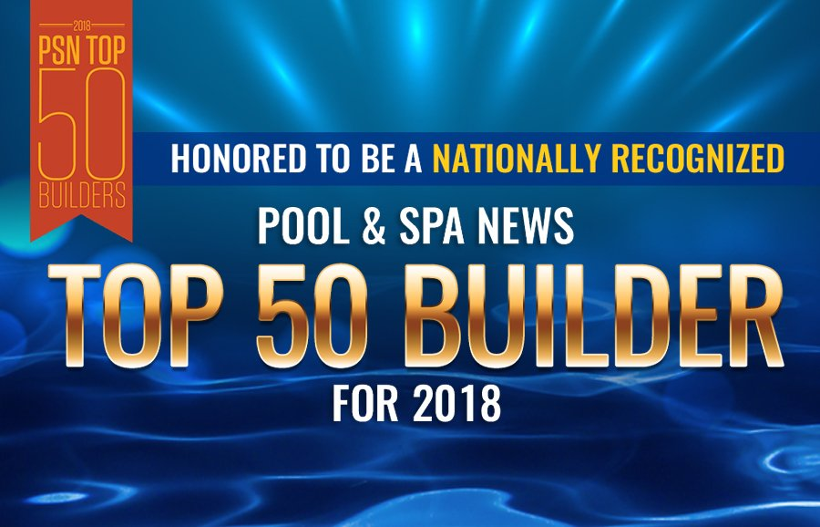 Riverbend Sandler Pools Ranked as One of the Top 50 Pool Builders in the Country
