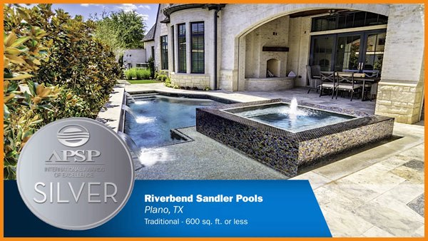 Riverbend Sandler Earns APSP International Awards of Excellence