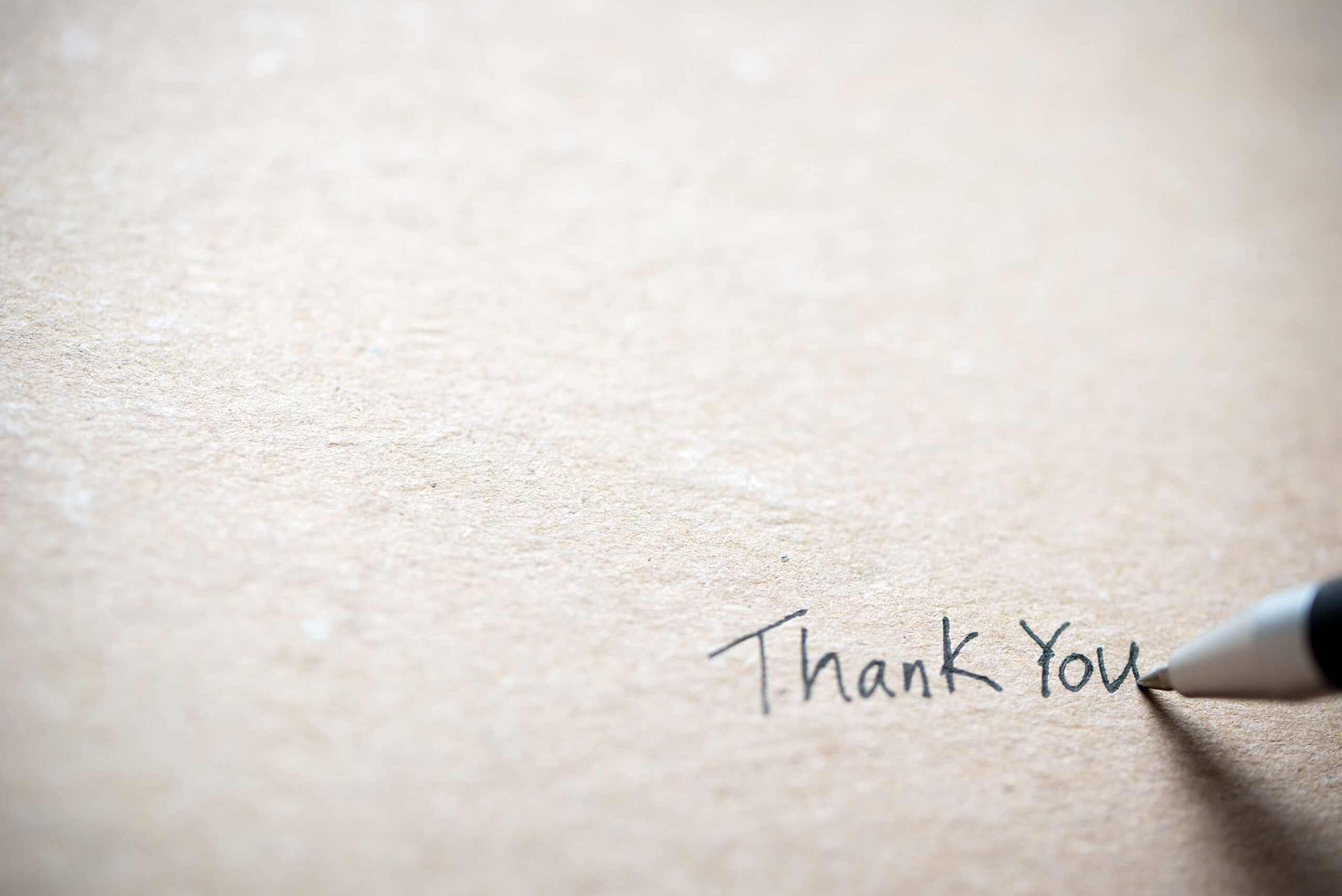 A Heartfelt Thanks From Us to You